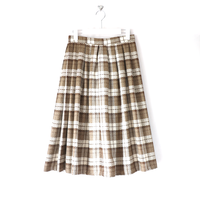 milk coffee tartan check_sk