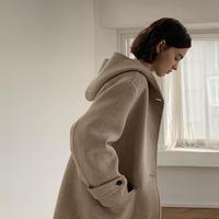 予約販売 Hoodie handmade long coat