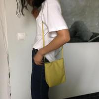 予約販売 Lime leather bag
