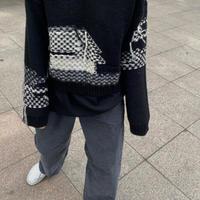 最終予約販売 Fringe Vneck knit