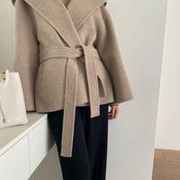 Fox hoodie handmade coat