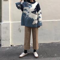 予約販売 bigsized alpaca knit