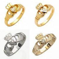 〔 アイルランド直輸入 〕クラダリング 結婚指輪 オーダーメイド アイルランド伝統の指輪