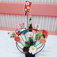 子年の食べられるクッキーブーケ☆門松クッキー☆お正月飾り・お年賀・手土産に!!