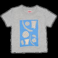 "kids T-shirts 100 ""paper work blue"""