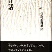 佐藤通雅歌集 『昔話 (むがすこ)』