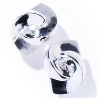 twin earring / silver