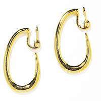ivy hoop earring / silver,gold (single)