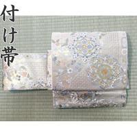 ◆極上の逸品!総刺繍 作り帯/付け帯 二重太鼓 帯枕付◆美品 04mr34