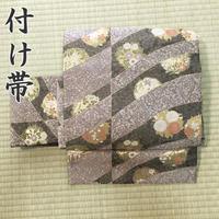 ◆鈴乃屋取扱 フォーマル作り帯/付け帯  二重太鼓 金糸◆美品 04mr35