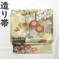 ◆礼装用 造り帯/つけ帯/作り帯 金糸◆美品 01mr10