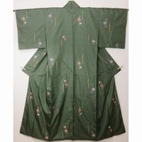◆鈴乃屋取扱い高級 紬 飛び柄 正絹◆しつけ付 美品 11m21