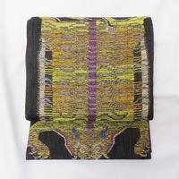 ◆極上の逸品! すくい織 袋帯 虎 箔糸◆未使用品 4my37