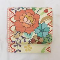 ◆やまと誂製 袋帯 お太鼓柄 ラメ糸 正絹◆美品 01my20