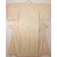 ◆小紋 総絞り 正絹◆美品! 11m12