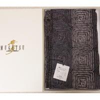 ◆未使用◆夢月ショール MUGETU シルク刺繍◆和装にも洋装にも 12b3