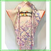★清楚 振袖 雉 ピンク★美品 成人式 卒業式 06z3