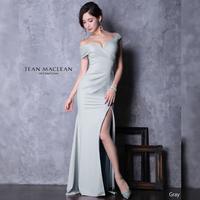 【JEAN MACLEAN】シンプルワンカラーLongDress【95386-7】【RE:ARRIVAL】