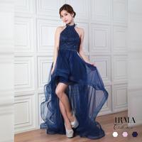 【IRMA】ハイ&ロー/チュールLongDress【91652】