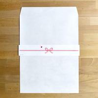 のし紙付 平袋 ホワイト W287×H382