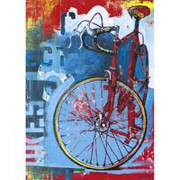 29600  Catharine Mackey : Bike Art - Red Limited