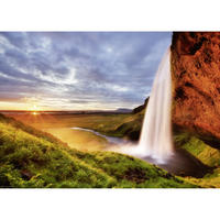 29769  Ed. Humboldt : Seljalandsfoss Waterfall