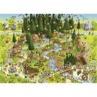 29638  Marino Degano : Funky Zoo, Black Forest Habitat