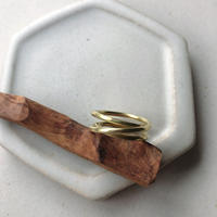 IRONO brass kurukuru Ring #13