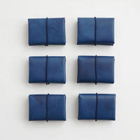 "SEAMLESS MINI WALLET   "" INDIGO """