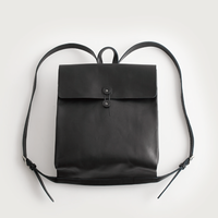 """sack"" rucksack   ( black / dark brown )"