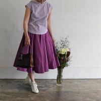 No.1802008 タイプライター ラウンドまちスカート Made in Japan