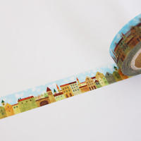 オリジナルマスキングテープ/街並