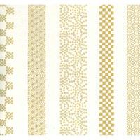 金柄1130-10781特注  美濃和紙友禅染紙(手染め美濃和紙)