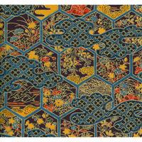 金柄1130-8827  美濃和紙友禅染紙(手染め美濃和紙)