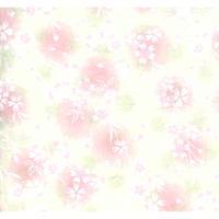 【もみしわ 厚み加工】赤柄1306-10159 美濃和紙友禅染紙(手染め美濃和紙)