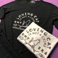 LOVING CAT S/S T-Shirt (WHITE & BLACK)