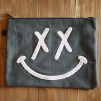 PUNK SMILE CLUTCH BAG