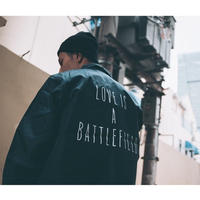 LOVE IS A BATTLEFIELD COACH JACKET