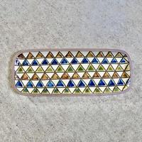 線彫り三角〔長〕