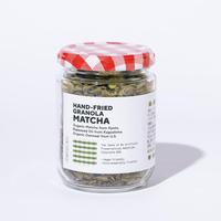 HAND-FRIED GRANOLA MATCHA / フライパンでつくった自家製抹茶グラノラ