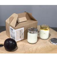 ココヤシと豆乳のヨーグルト(フルーツ)