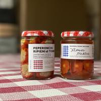【10/31発売】PEPERONCINI RIPIENI di TONNO / 甘唐辛子自家製ツナ詰めオイル漬け(南イタリアの思い出)