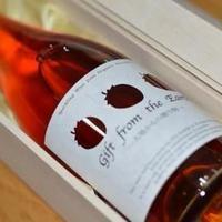 いちごのスパークリングワイン(贈答用木箱入り)