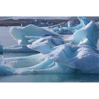 画像データ アイスランド ヨークルサルロン氷河湖