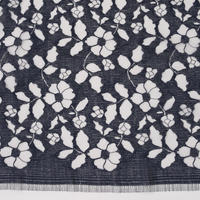 French Leavers Lace 950794.2/90  NAVY