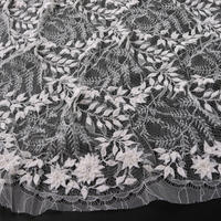 French Leavers Lace 80524.1/90 RIN2055  IVORY