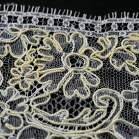 French Leavers Lace 12078.1/9 RPH2143  YELLOW