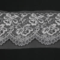 French Leavers Lace 184101.1/21 RI2114  ECRU