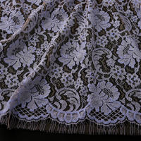 French Leavers Lace 55344.2/90  BLUE