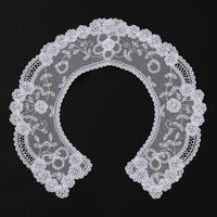 Belgian Princess Lace 襟レース  WHITE